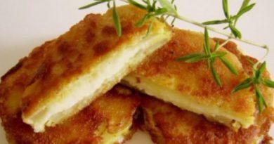 Rántott cukkini sajttal töltve: ennél finomabb dolog nem is készülhetne a cukkiniből