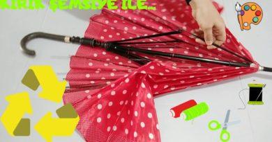 Nincs szíved kidobni a szeretett törött esernyődet? Mutatunk egy ötletet, amely után nem is kell