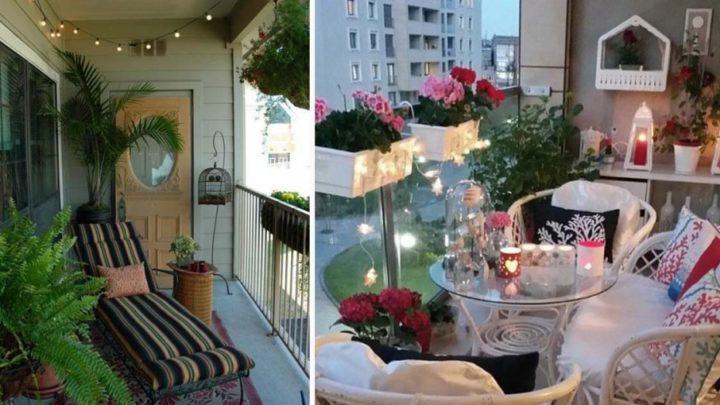 Aprócska erkélye, a relaxációra legalkalmasabb hely! 27 fantasztikusan jó ötlet!