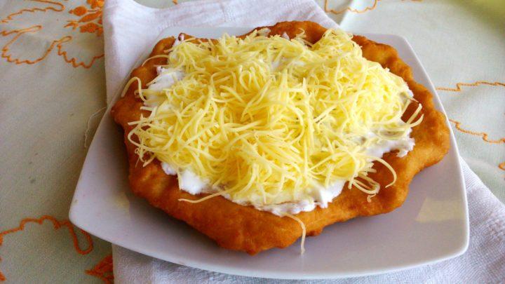 Sehr lecker: Ungarische langos