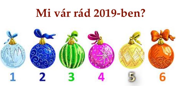 Melyik gömb a legszimpatikusabb számodra? Elárulja neked mi vár rád 2019-ben!